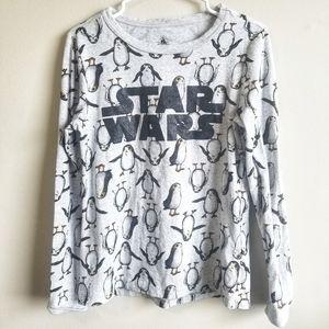 STAR WARS / Porgs Graphic Long Sleeve Shirt